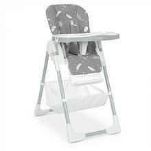 Детский стульчик для кормления 4507 Fluffy Gray