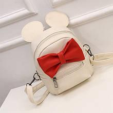 Маленький дитячий рюкзак з вухами