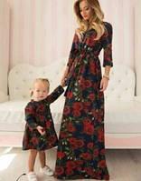 Женское нарядное Платье  в пол DG р.44-46