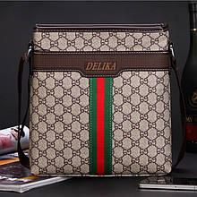 Мужская сумка планшет Delika