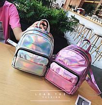 Дитячий блискучий рюкзак відображає