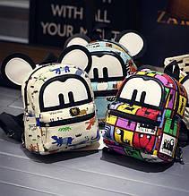 Дитячі маленькі рюкзаки з вушками