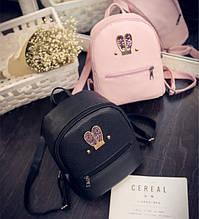 Маленький дитячий рюкзак з вушками блискітками для дівчаток   Яскравий міні рюкзачок для дитини з вухами, рюкзачок