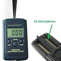 Электронный кантер весы до 40 кг PES-003 карманные
