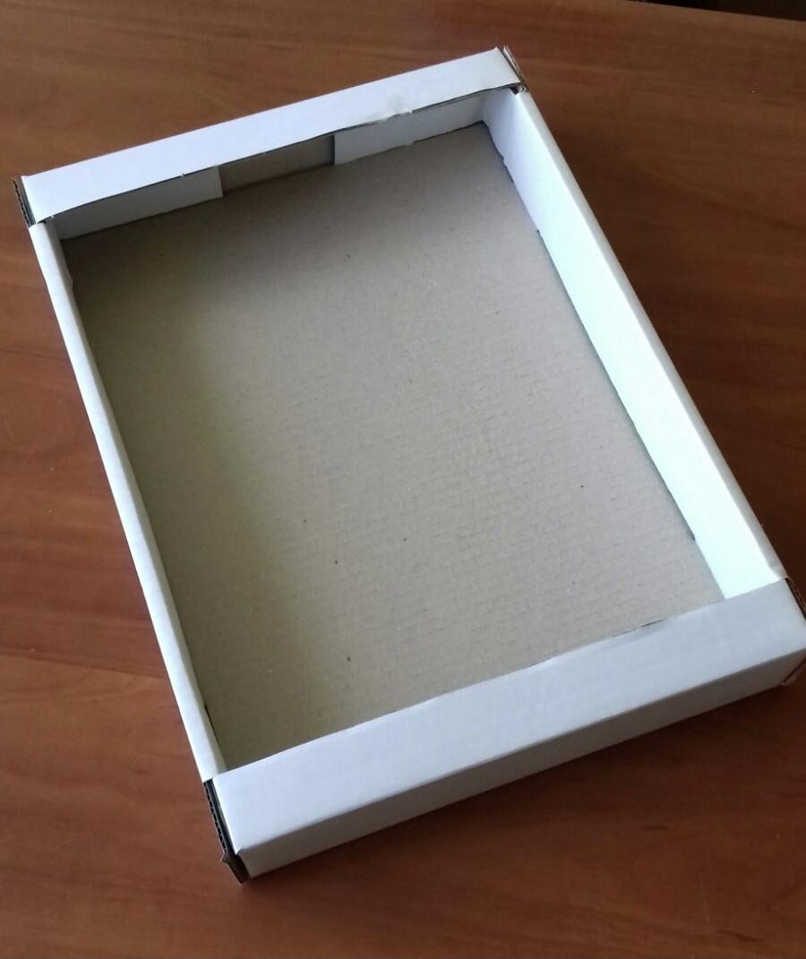 Лоток кондитерський білий 390х277х55(мм) / Лоток кондитерський білий 390х277х55 (мм)