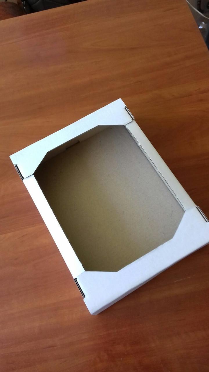 Лоток кондитерский білий 285х217х65(мм)/ Лоток кондитерской белый 285х217х65(мм)