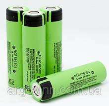 Акумулятор 18650 Li-Ion Panasonic NCR18650B, 3400mAh, 6.8A, 4.2/3.6/2.5V, GREEN, OEM