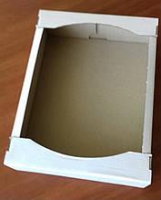 Лоток кондитерський білий 380х285х92(мм)/ Лоток кондиторский белый 380х285х92(мм)