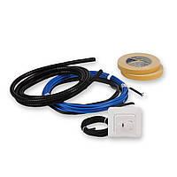Тонкий нагревательный кабель для пола EFHFK1.7+T, фото 1