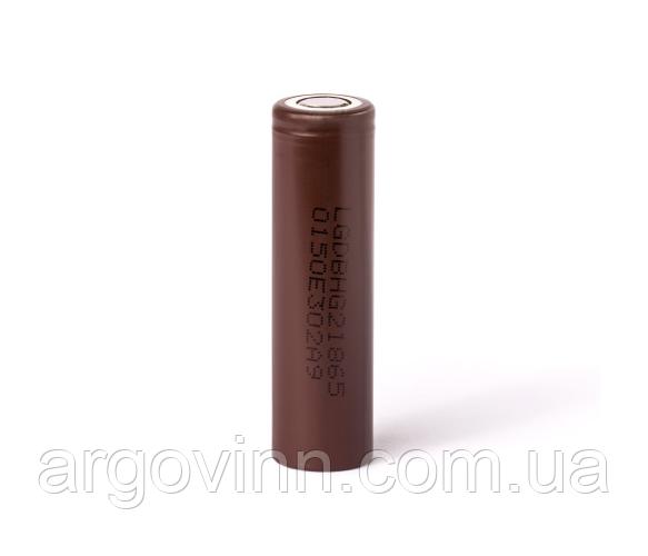 Аккумулятор 18650 Li-Ion LG LGDBHG21865-HG2, 3000 mAh, 20A, 4.2/3.6/2.5V, BROWN, PVC BOX