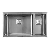 Мийка кухонна нержавіюча сталь WEILOR ALLERHAND WRX DB8145, фото 1