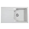 Мийка кухонна гранітна Perfelli FELICINETTO PGF 114-78 WHITE