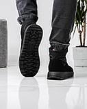 Ботинки мужские зимние на шнуровку и молнию (Пр-3804ч), фото 4