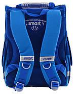 Рюкзак шкільний каркасний Smart PG-11 Big Wheels Синій (555971), фото 2