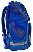 Рюкзак шкільний каркасний Smart PG-11 Big Wheels Синій (555971), фото 3