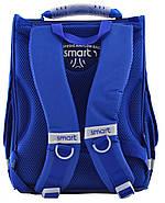 Рюкзак шкільний каркасний Smart PG-11 School Club Синій (555995), фото 5