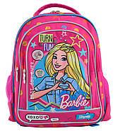 Рюкзак шкільний 1 Вересня S-22 Barbie Рожевий (556335), фото 2