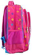 Рюкзак шкільний 1 Вересня S-22 Barbie Рожевий (556335), фото 5