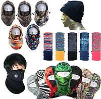Баффы, шапки, балаклавы, маски