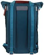 Рюкзак міський YES Roll-top T-58 Emerald 14 л Синій (557257), фото 2