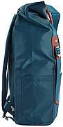 Рюкзак міський YES Roll-top T-58 Emerald 14 л Синій (557257), фото 3