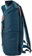 Рюкзак міський YES Roll-top T-58 Emerald 14 л Синій (557257), фото 4