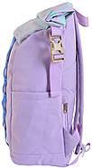 Рюкзак міський YES Roll-top T-61 Viola 18 л Ліловий (557194, фото 2