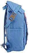 Рюкзак міський YES Roll-top T-61 18 л Blue Moon (557360), фото 2