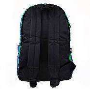 Рюкзак молодіжний YES GS-01 з паєтками 13 л Green Chameleon (557678), фото 4