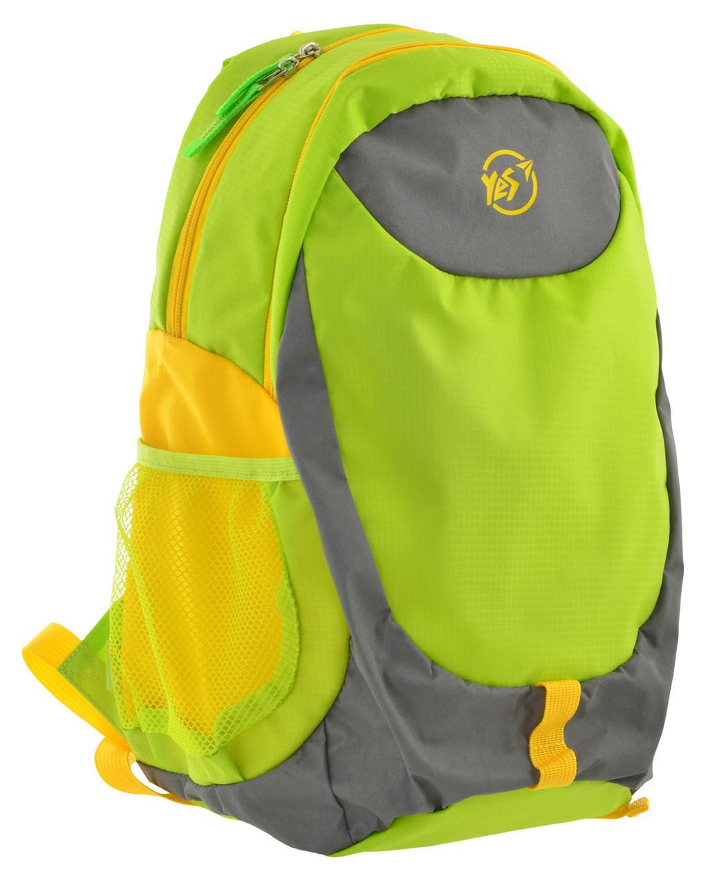Рюкзак спортивний YES SL-01 Салатовий (557504)