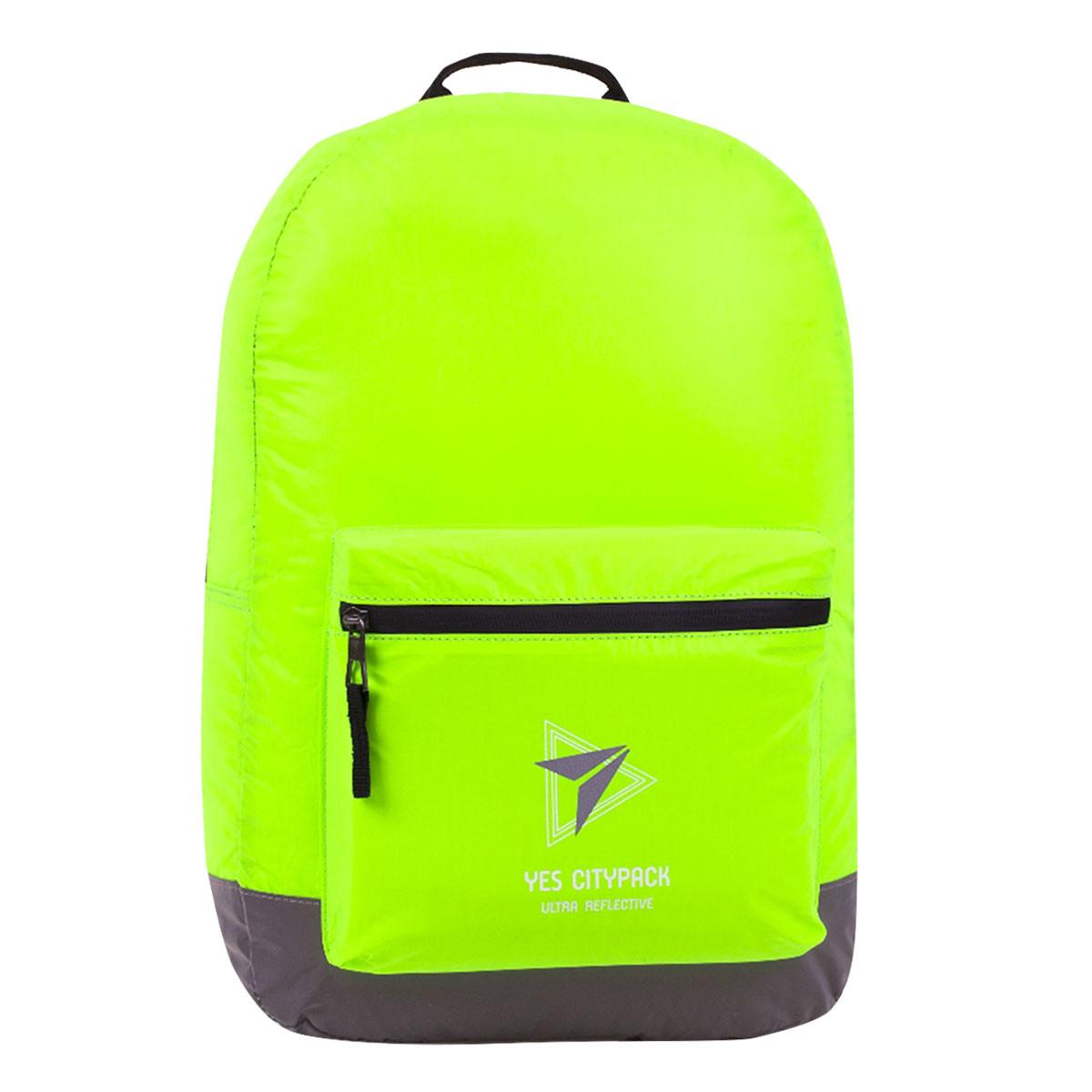 Рюкзак молодіжний YES R-03 Ray Reflective Жовтий/сірий (558583)