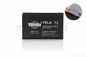 Акумулятор мото 12V 9A  SLA  150-65-95mm  DB12-9