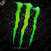 """Наклейка """"Monster Energy"""" - Большой размер. Оригинал!"""
