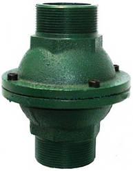Чавунний зворотний клапан для байпаса опалення 40