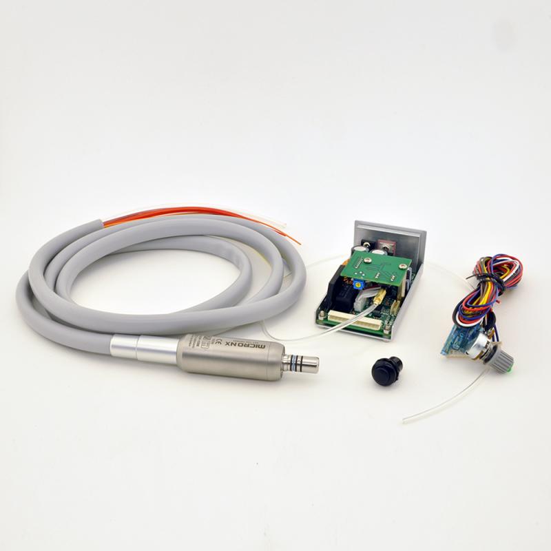 Встраиваемый щеточный микромотор MicroNX HW-100E с подачей воды для стоматологической установки
