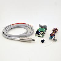 Встраиваемый щеточный микромотор MicroNX HW-100E с подачей воды для стоматологической установки, фото 1