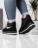 Ботинки женские кроссовки на меху утепленные (БТ-6н), фото 2