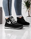 Черевики жіночі кросівки на хутрі утеплені (БТ-6н), фото 5