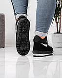 Ботинки женские кроссовки на меху утепленные (БТ-6н), фото 6