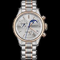 Чоловічий швейцарський годинник Aerowatch Renaissance Chronograph Moon-Phases 78986BI03M