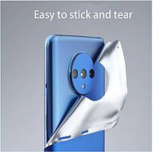 Металізована захисна плівка на задню панель oneplus 7T/7T Pro Синій