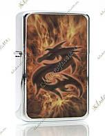 Зажигалка бензиновая Misterious Dragon