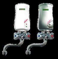 Проточный водонагреватель Elektromet Lider 4 kW (белый, с краном 150 мм)