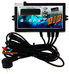 Контролер (електронний блок управління) для твердопаливного котла Air auto