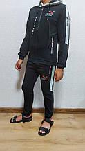 Спортивний костюм комбінований PUMA\\ M3 підліток школа хлопчик 7-12 років, купити оптом зі складу 7км Одеса