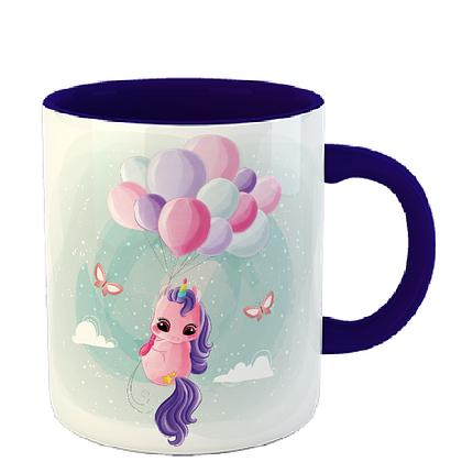 Чашка Кольоровий єдиноріг, фото 2
