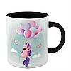 Чашка Кольоровий єдиноріг, фото 3