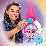 Інтерактивна Троль Трояндочка на роликахTrolls Poppy Hasbro, фото 3