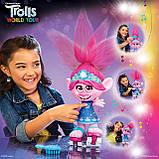 Інтерактивна Троль Трояндочка на роликахTrolls Poppy Hasbro, фото 4