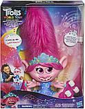 Інтерактивна Троль Трояндочка на роликахTrolls Poppy Hasbro, фото 5